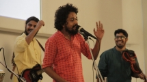 Performance by Neeraj Arya's Kabir Cafe at Remembering Partition