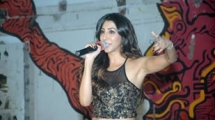 Shilpa Thakur performing at Vikhroli Skin