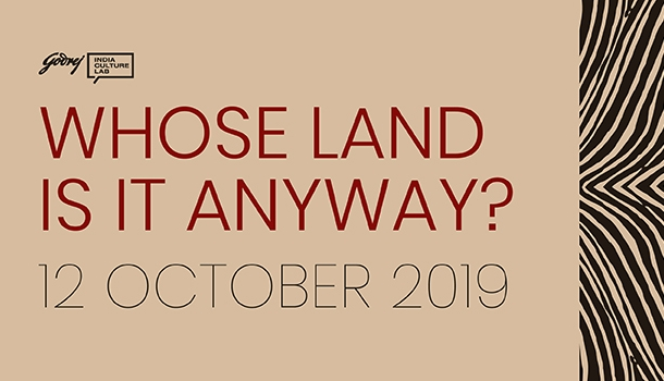 Whose Land Is It Anyway?