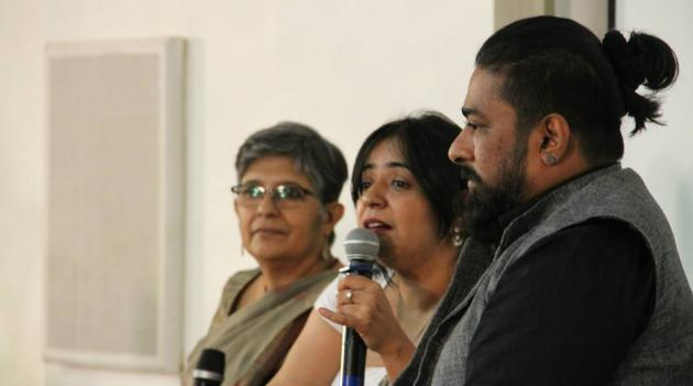 Dr. Indira Chowdhury, Anusha Yadav & artist Ali Akbar Mehta  take the audience on a nostalgic journey of the city's past
